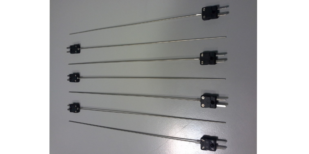 Thermocouple J with headed connector